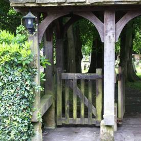 The lych-gate