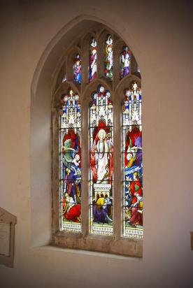 Stained Glass Christ